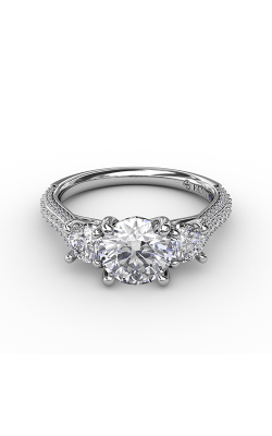 Fana Three Stone Engagement ring S3336 product image