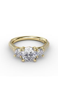 Fana Three Stone Engagement ring S3336 product image