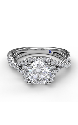 Fana Halo Engagement Ring S3359 product image