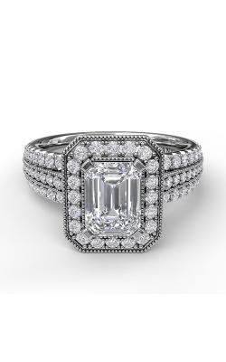 Fana Halo Engagement ring S3652 product image