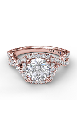 Fana Halo Engagement Ring S3796 product image