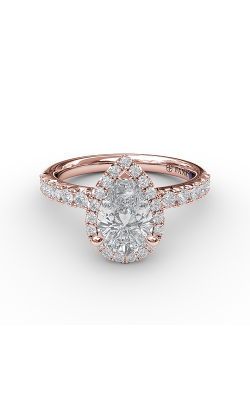 Fana Halo Engagement ring S3820 product image