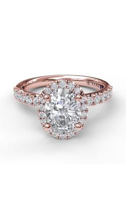 Fana Halo Engagement ring S3838 product image