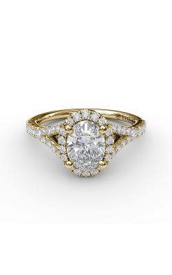 Fana Halo Engagement ring S3845 product image