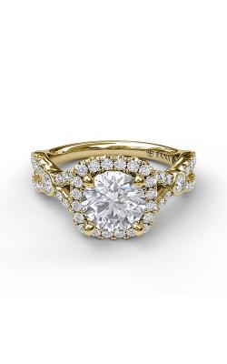 Fana Halo Engagement ring S3943 product image