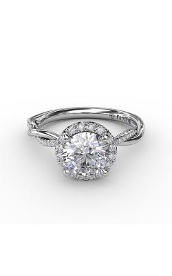 Fana Halo Engagement ring S4001 product image