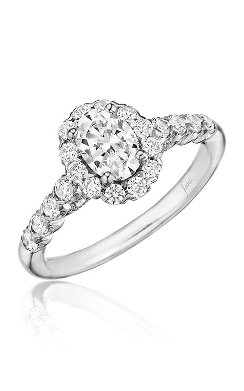 Fana Halo Engagement ring S2590 product image