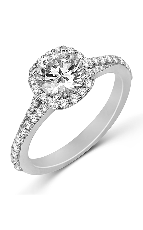 Fana Halo Engagement ring S2365RG product image