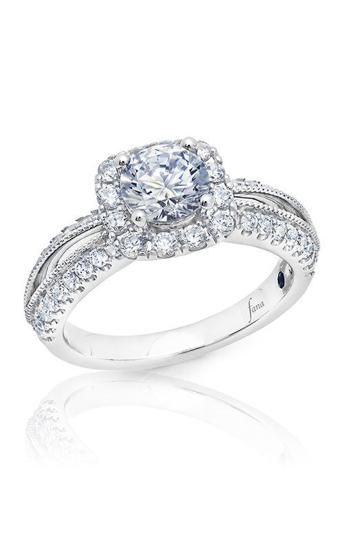 Fana Halo Engagement ring S2763 product image