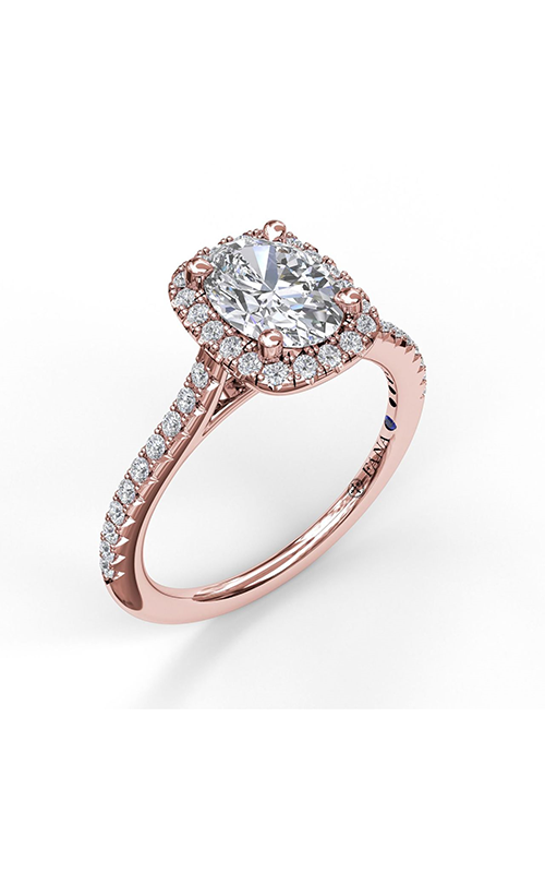 Fana Halo Engagement ring S3041 product image