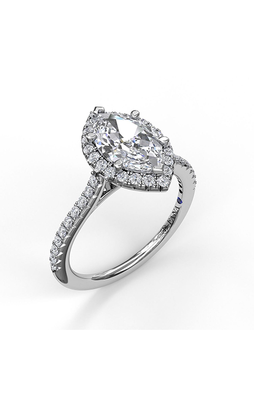 Fana Halo Engagement ring S3042 product image