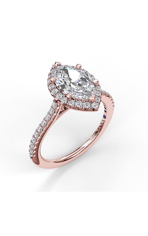 Fana Halo Engagement ring S3042 product image