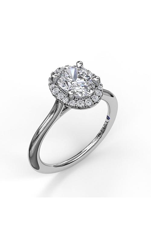 Fana Halo Engagement ring, S3043 product image