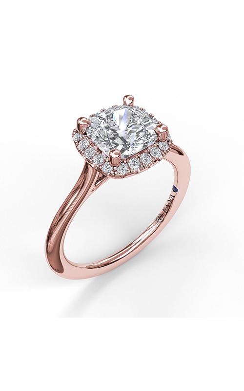 Fana Halo Engagement ring S3044 product image
