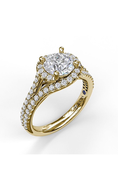 Fana Halo Engagement ring S3061 product image