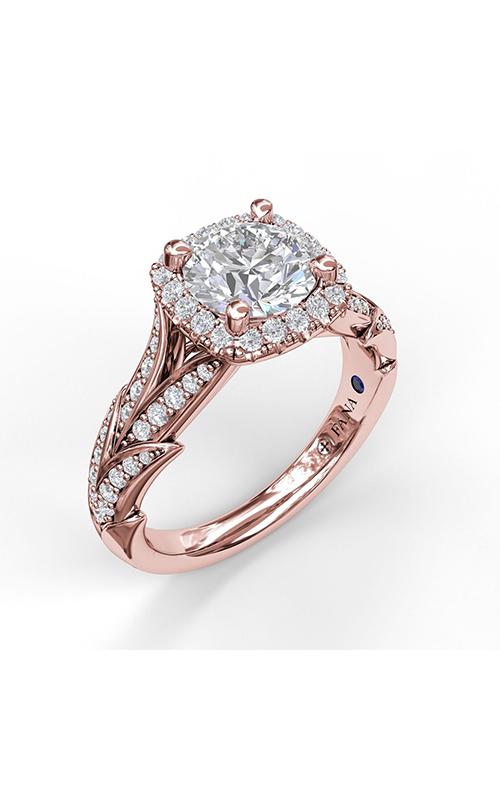 Fana Halo Engagement ring S3068 product image