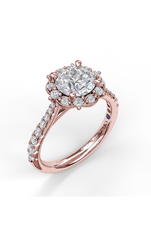 Fana Halo Engagement ring S3072 product image