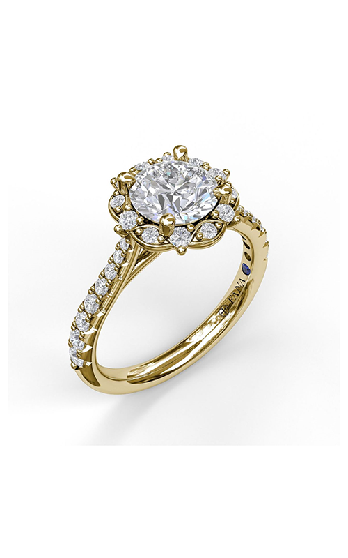 Fana Halo Engagement ring S3072 product image