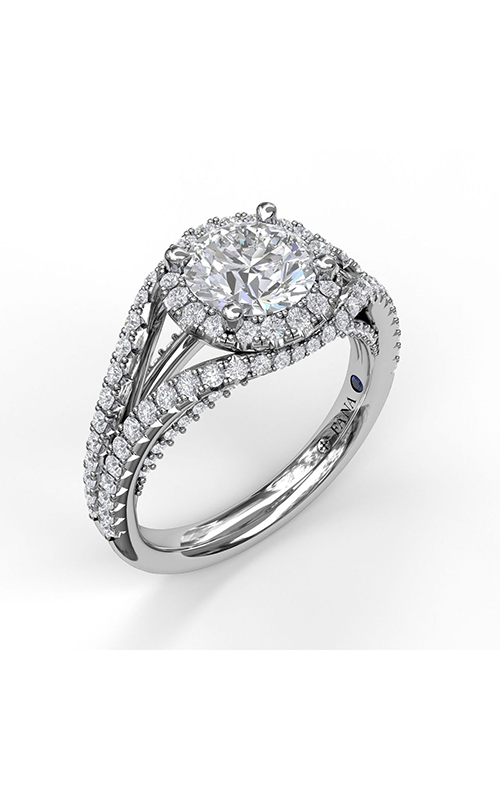 Fana Halo Engagement ring S3090 product image