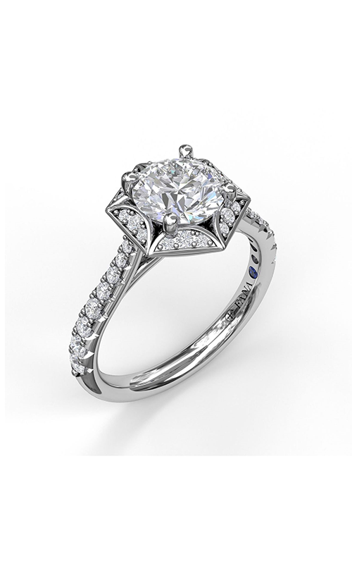 Fana Halo Engagement ring S3092 product image