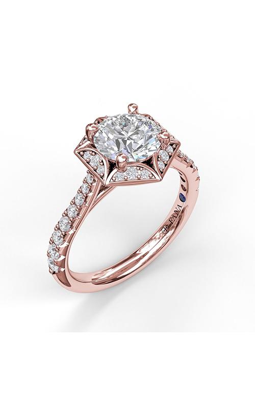 Fana Halo Engagement ring S3092 product image