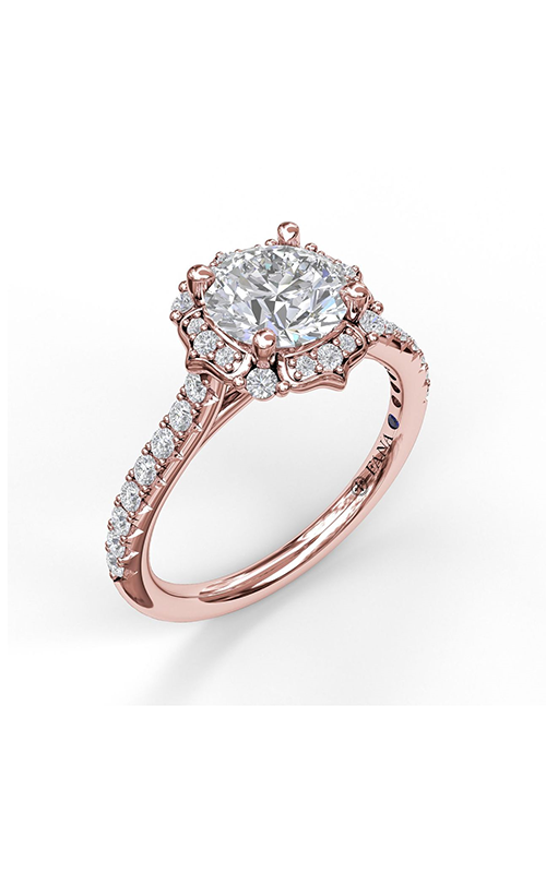 Fana Halo Engagement ring S3094 product image