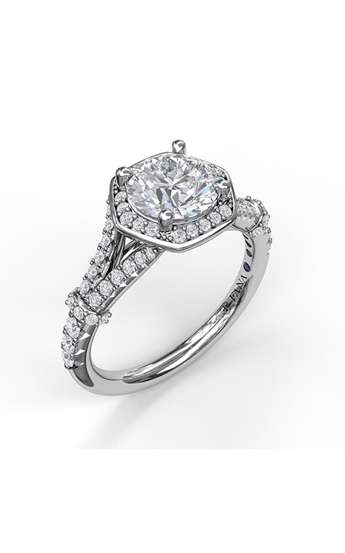 Fana Halo Engagement Ring S3096 product image