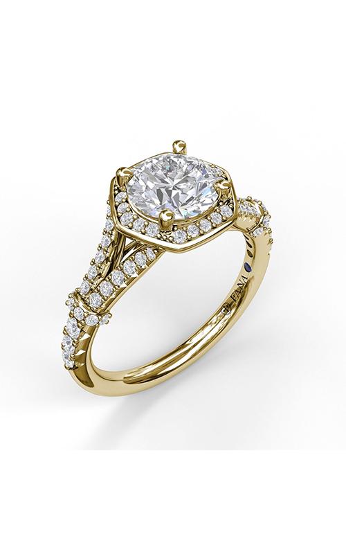 Fana Halo Engagement ring S3096 product image
