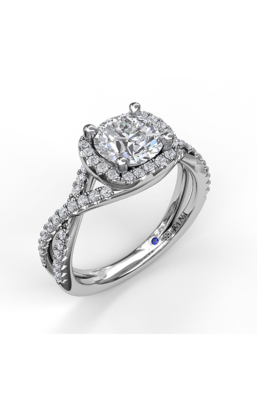 Fana Halo Engagement ring, S3359 product image