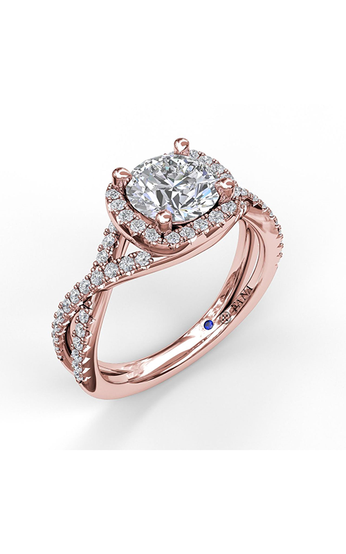 Fana Halo Engagement ring S3359 product image