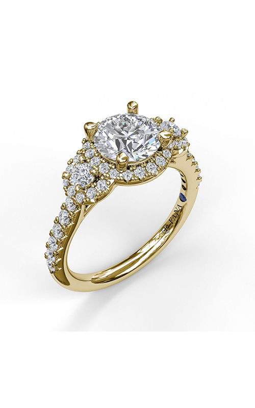 Fana Halo Engagement ring S3405 product image