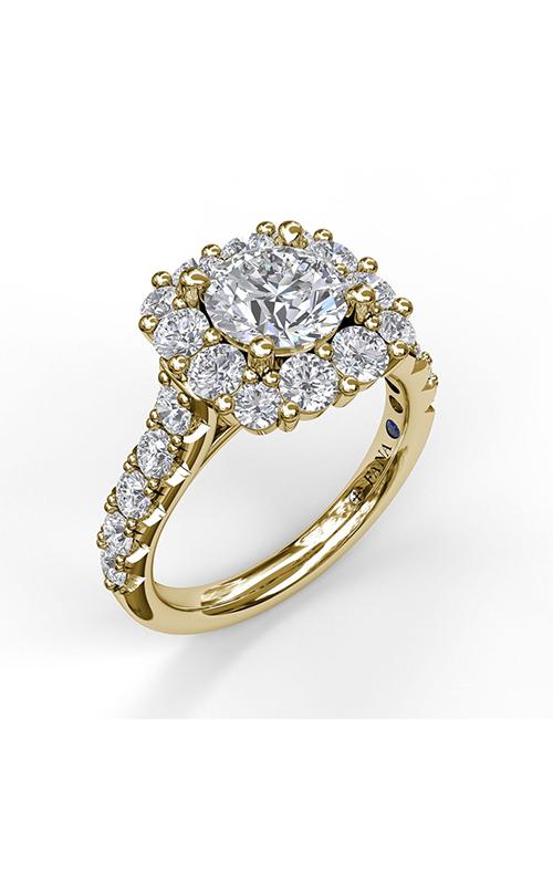 Fana Halo Engagement ring S3459 product image