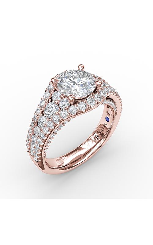 Fana Halo Engagement ring S3465 product image