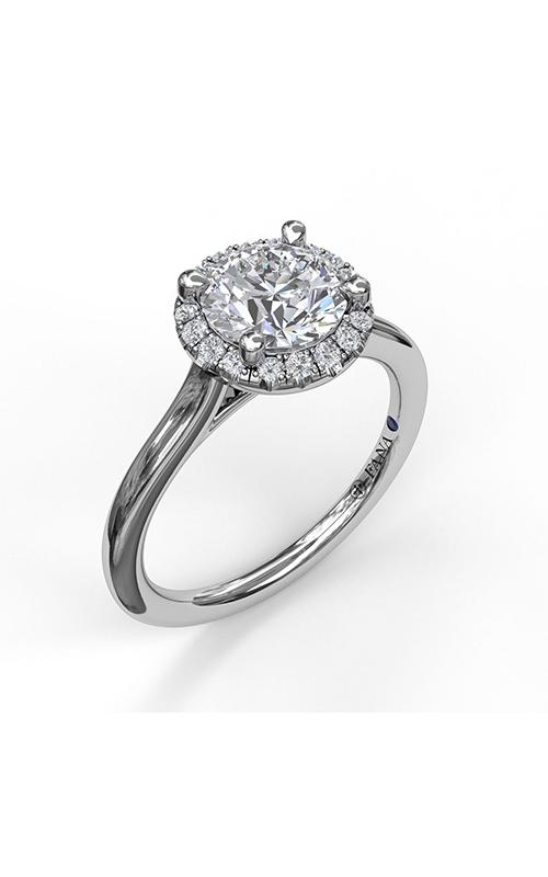Fana Halo Engagement ring S3485 product image