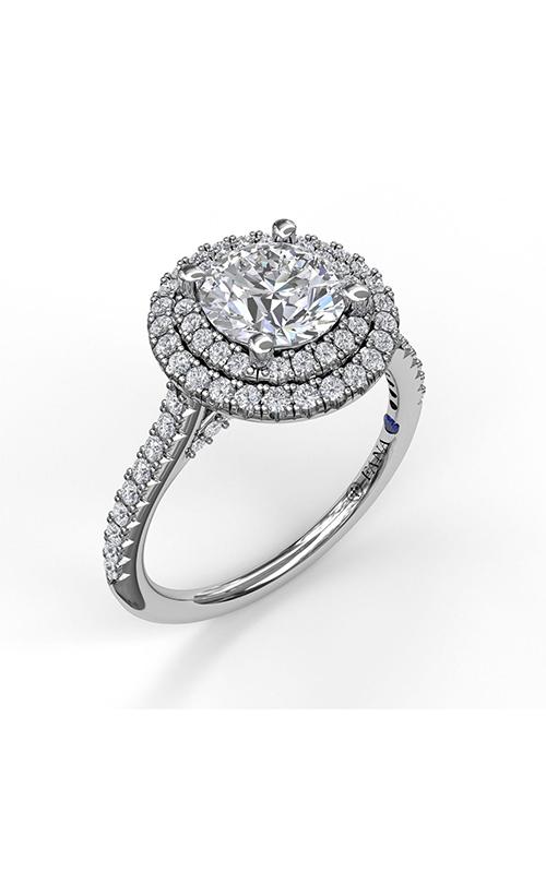 Fana Halo Engagement ring S3511 product image