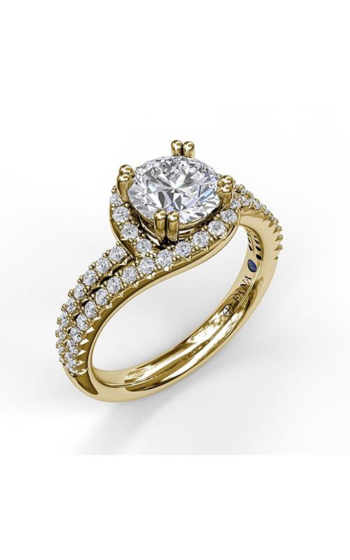 Fana Halo Engagement ring S3555 product image