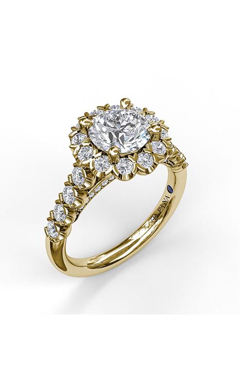 Fana Halo Engagement ring S3591 product image