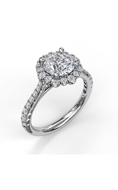 Fana Halo Engagement ring S3723 product image