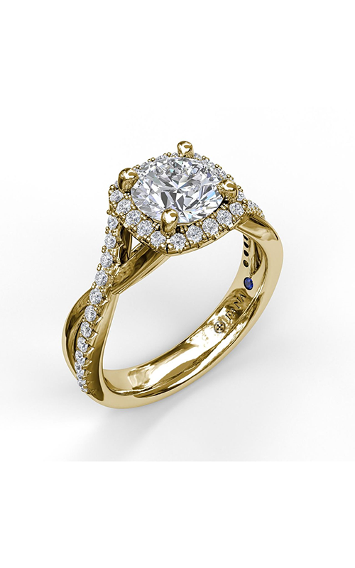 Fana Halo Engagement ring S3755 product image