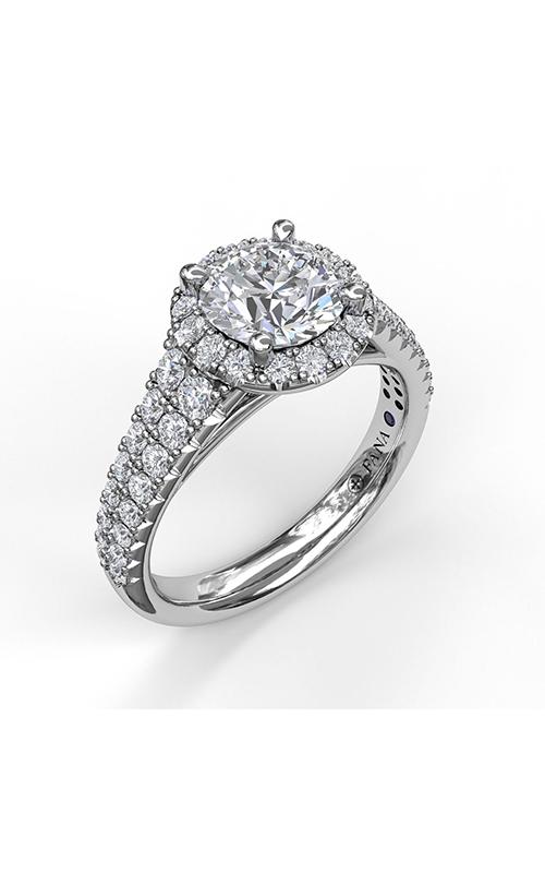 Fana Halo Engagement ring S3775 product image