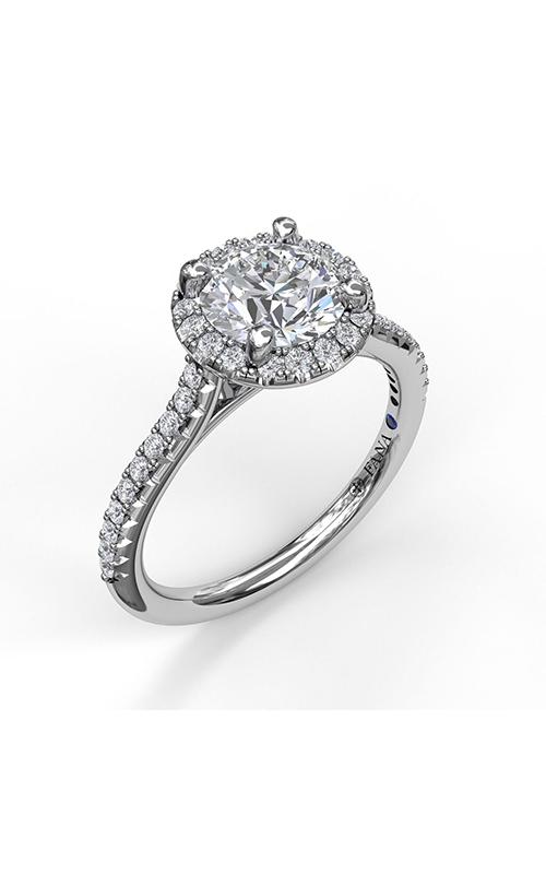 Fana Halo Engagement ring S3789 product image