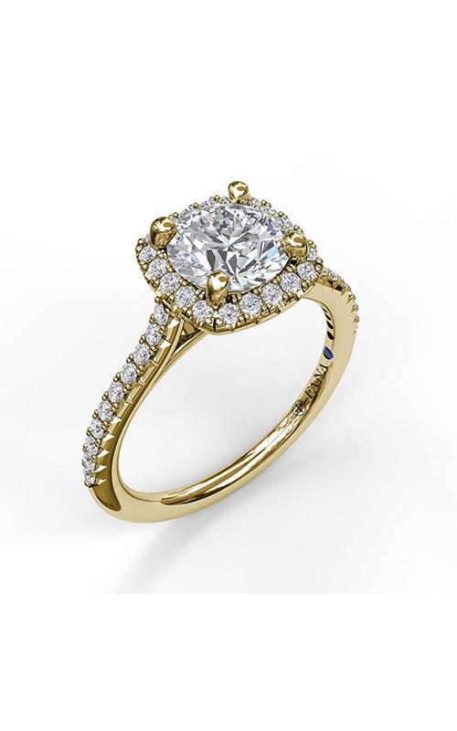 Fana Halo Engagement ring S3790 product image