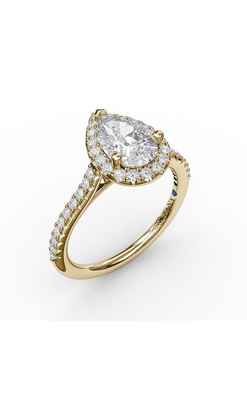 Fana Halo Engagement ring S3791 product image
