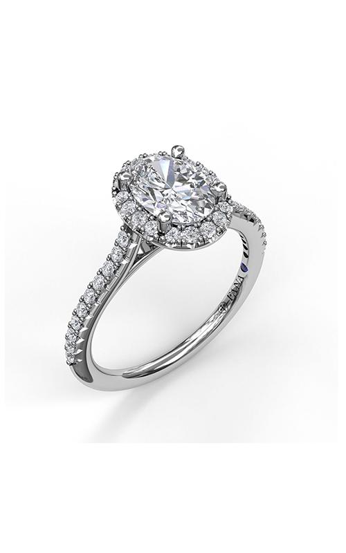 Fana Halo Engagement ring S3792 product image