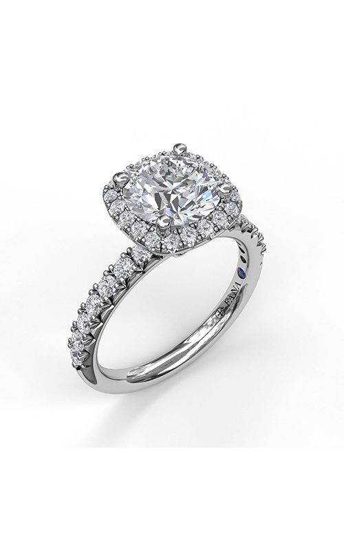 Fana Halo Engagement Ring S3819 product image