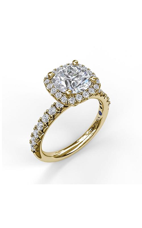 Fana Halo Engagement ring S3819 product image