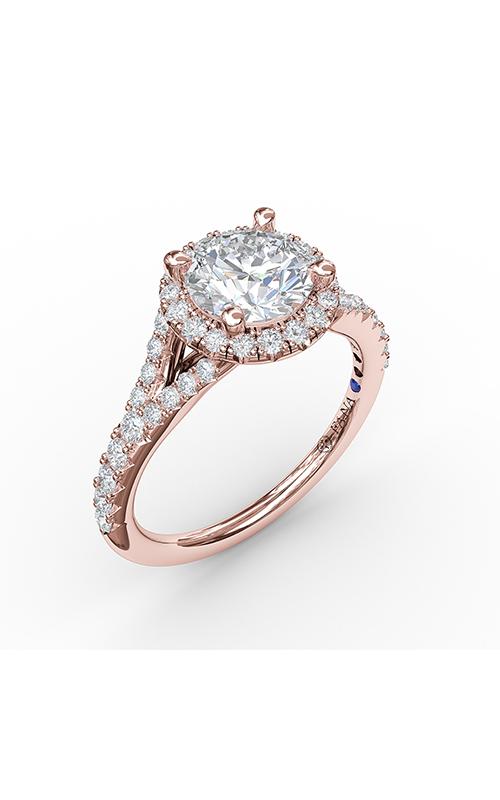 Fana Halo Engagement ring S3843 product image