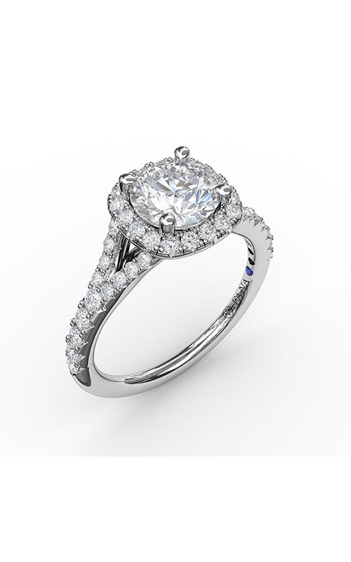 Fana Halo Engagement ring S3844 product image