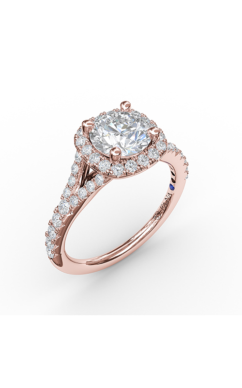Fana Halo Engagement ring S3844 product image