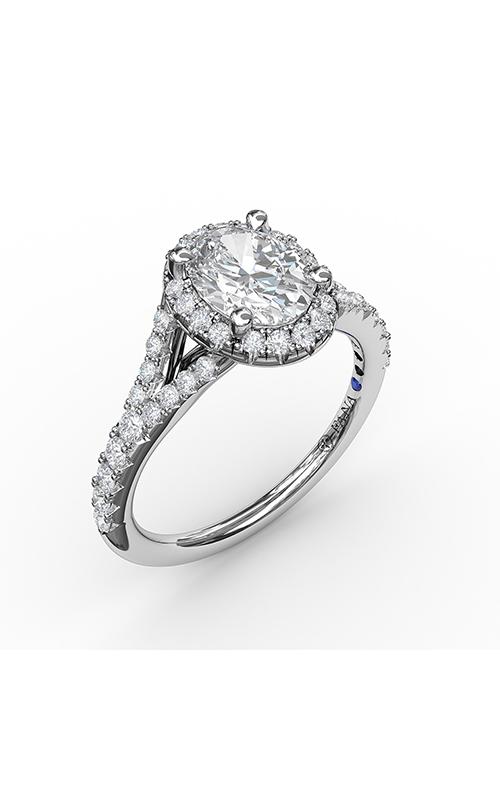 Fana Halo Engagement ring, S3845 product image